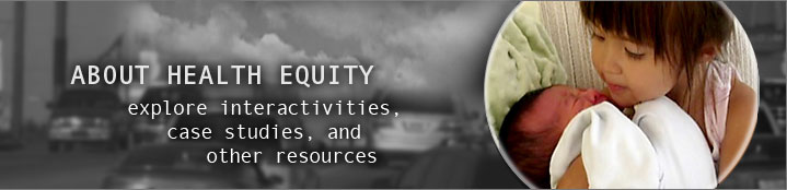 HEALTH EQUITY research topics and resources to learn more